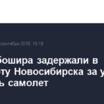 Авиадебошира задержали в аэропорту Новосибирска за угрозы взорвать самолет