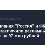 Авиакомпания «Россия» и ФК «Зенит» заключили рекламный контракт на 97 млн рублей