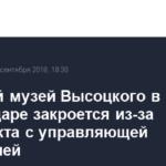 Частный музей Высоцкого в Краснодаре закроется из-за конфликта с управляющей компанией