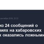 Девять из 24 сообщений о нарушениях на хабаровских выборах оказались ложными