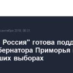 «Единая Россия» готова поддержать врио губернатора Приморья на ближайших выборах