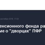 Глава Пенсионного фонда рассказал в Госдуме о «дворцах» ПФР