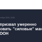 Лавров призвал умеренно использовать «силовые» мандаты миссий ООН
