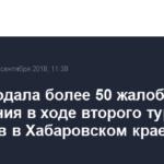 ЛДПР подала более 50 жалоб на нарушения в ходе второго тура выборов в Хабаровском крае