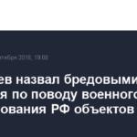 Медведев назвал бредовыми опасения по поводу военного использования РФ объектов в Турку