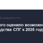 Минэнерго оценило возможности производства СПГ к 2035 году