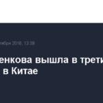 Павлюченкова вышла в третий круг турнира в Китае
