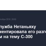 Пресс-служба Нетаньяху прокомментировала его разговор с Путиным на тему С-300