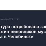 Прокуратура потребовала завести дела против виновников мусорного коллапса в Челябинске