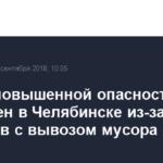 Режим повышенной опасности объявлен в Челябинске из-за перебоев с вывозом мусора