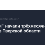 «Россети» начали трёхмесячные учения в Тверской области