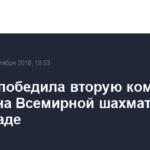 Россия победила вторую команду Грузии на Всемирной шахматной олимпиаде
