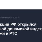 Рынок акций РФ открылся смешанной динамикой индексов МосБиржи и РТС