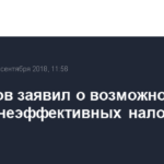 Силуанов заявил о возможной отмене неэффективных налоговых льгот