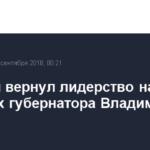 Сипягин вернул лидерство на выборах губернатора Владимирской области
