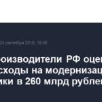 Сталепроизводители РФ оценили свои расходы на модернизацию энергетики в 260 млрд рублей