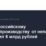 Ущерб российскому сельхозпроизводству от непогоды превысил 6 млрд рублей