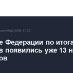 В Совете Федерации по итогам выборов появились уже 13 новых сенаторов