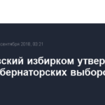 Хабаровский избирком утвердил итоги губернаторских выборов